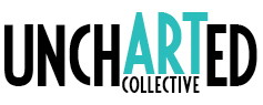 UnchARTed Collective logo blue art