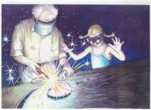 Grandpas Gate artwork 1 by Liliana Stafford