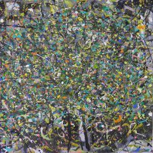 After the rain acrylic on canvas 52x53cm