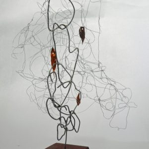 wire work sculpture 'tree' SOLD