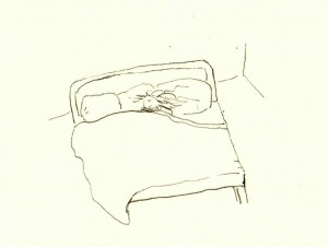 Trood in bed-ink